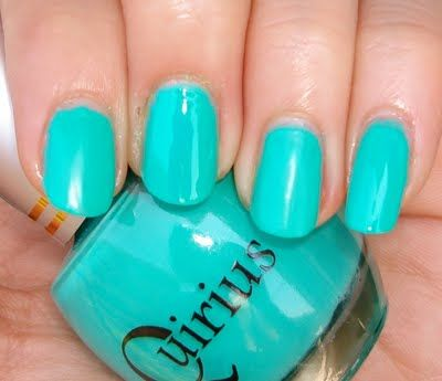 Turquoise and Gold Nails | Quirius (Part III, the end... for now!) swatches + matte comparisons ...