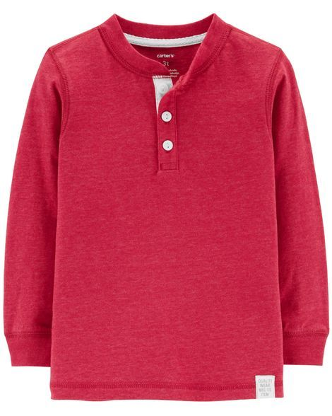 3010183bd2f2 Toddler Boy Snow Yarn Henley from Carters.com. Shop clothing ...