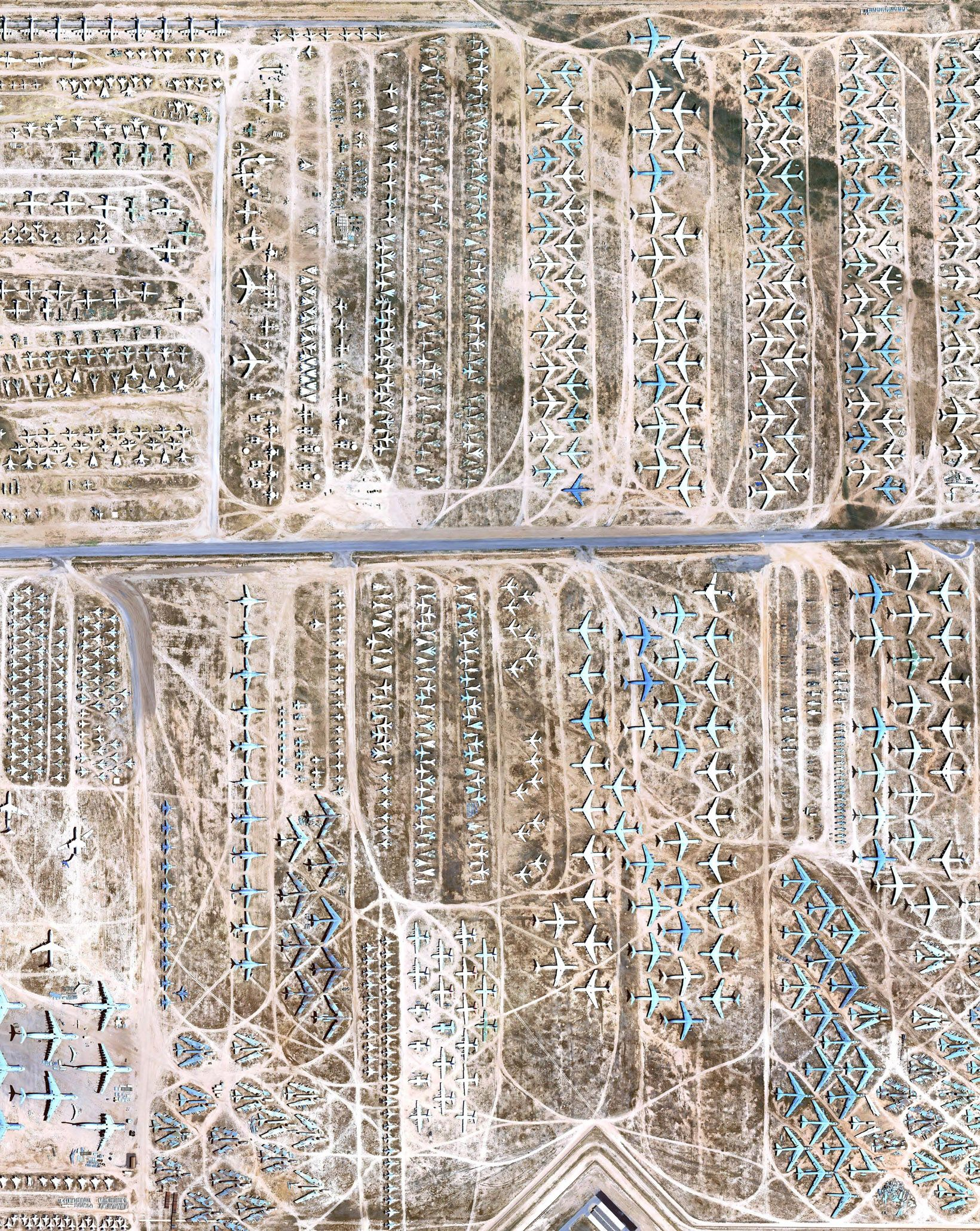 Google Earth S View Of The Boneyard Where Planes Go To Die