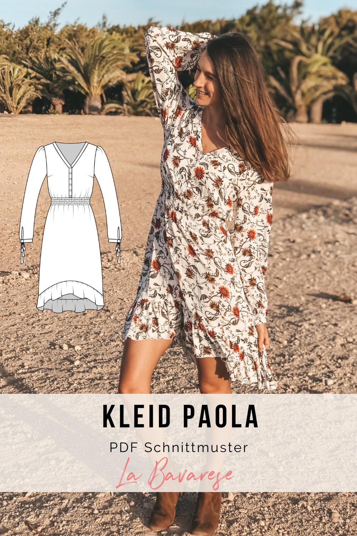 Patrón de costura vestido boho PAOLA  – Moda
