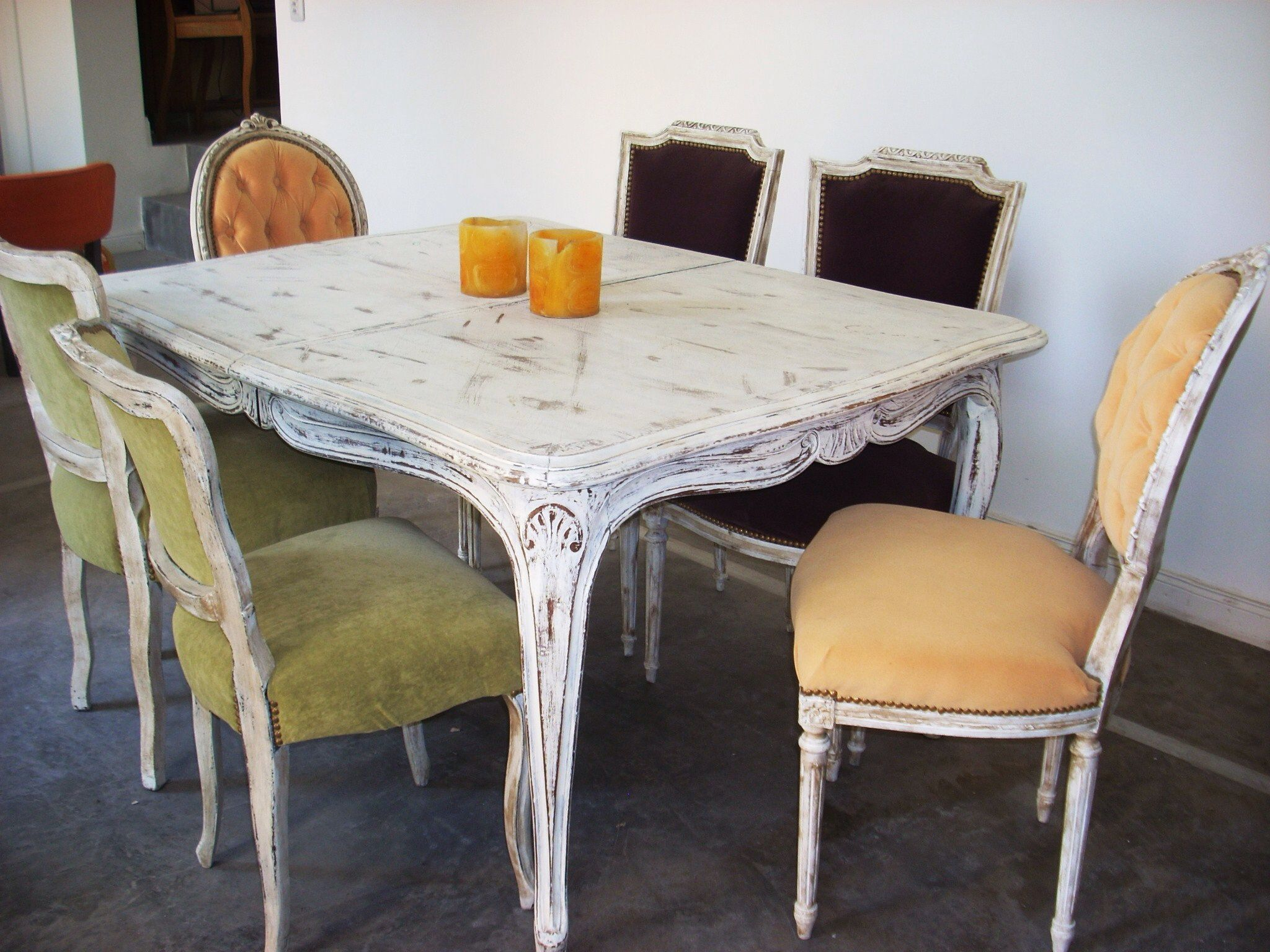 Mesa antigua dinning table pinterest comedores - Muebles antiguos franceses ...