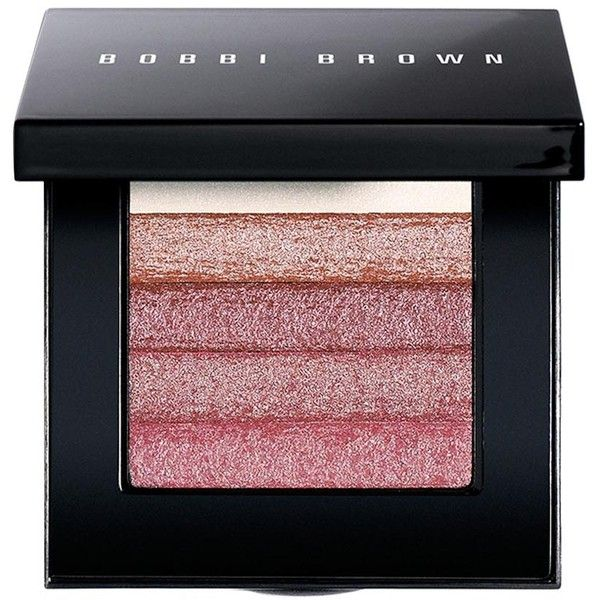 Bobbi Brown Shimmer Brick (815 MXN) ❤ liked on Polyvore featuring beauty products, makeup, cheek makeup, blush and bobbi brown cosmetics