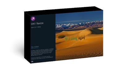 تحميل برنامج تصغير حجم الصور بدقة عالية On1 Resize 2020 Screenshots