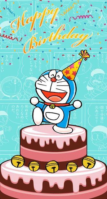 Happy Birthday Doraemon Doraemon Pinterest Happy