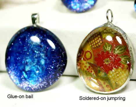Altered Glass Jewelry