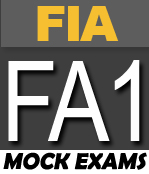 FREE FIA FA1 MOCK EXAMS | ACCA Online Learning | Exam papers, Free