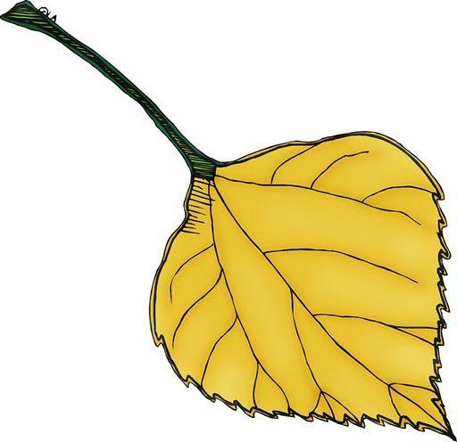 Aquí tenéis hojas de otoño de diferentes modelos y colores para