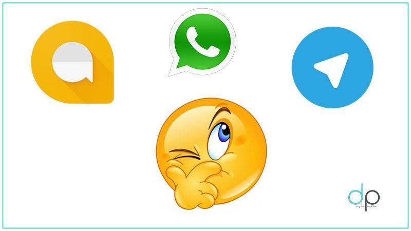 Say Hello to Google Allo A Comparison with Whatsapp and