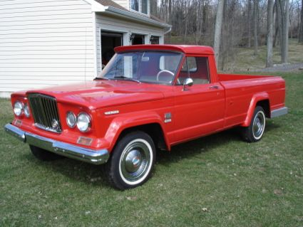 1967 Jeep J3000 Long Bed Jeep Classic Pickup Trucks Jeep Gladiator