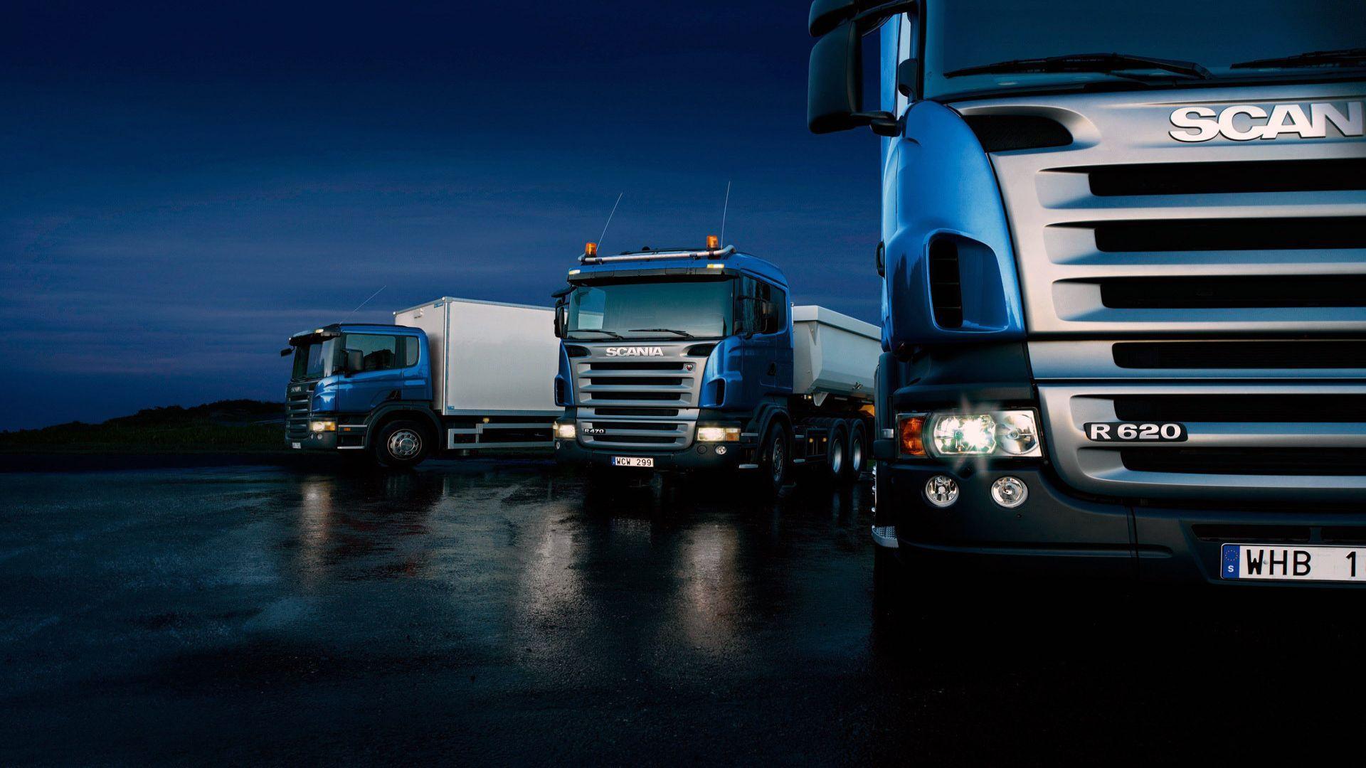 Scania Trucks Picture For Desktop Wallpaper