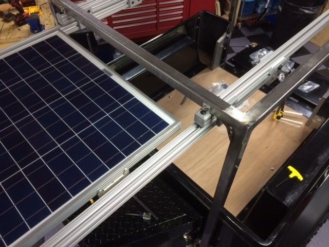 Anyone Have Pix Of How They Mounted Solar Panels Expedition Portal Solar Panels Solar Solar Energy Panels