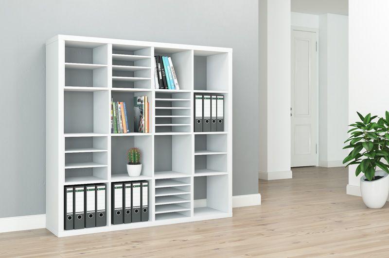 Ikea Kallax Fächer individuell unterteilen | Ikea kallax ...