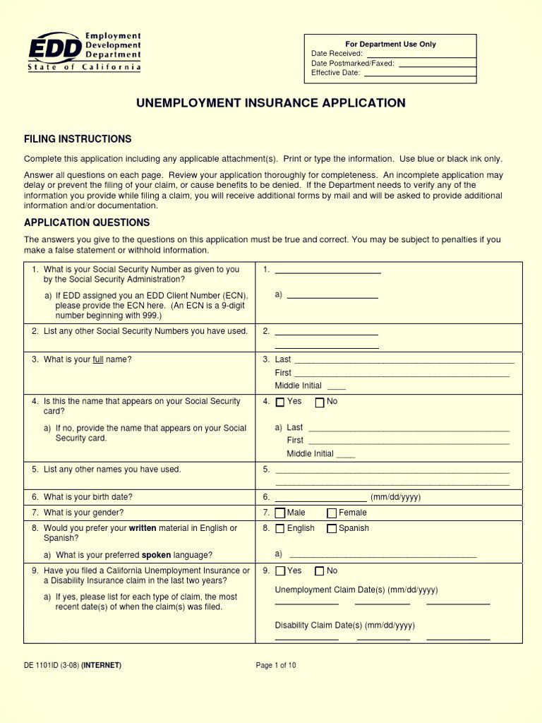 Unemployment Insurance Application This Or That Questions