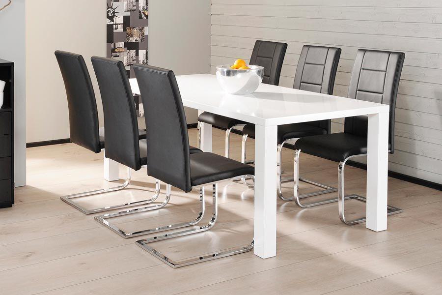 CAVA-ruokailuryhmä (pöytä 180X90CM+6 tuolia musta) - Ruokailuryhmät ja pöydät | Sotka.fi