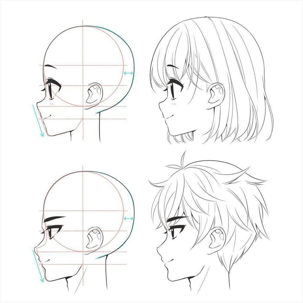 Tipos De Cara Estilo Anime Buscar Con Google Tutoriales Para Dibujar Manga Como Dibujar Animes Como Dibujar Rostros