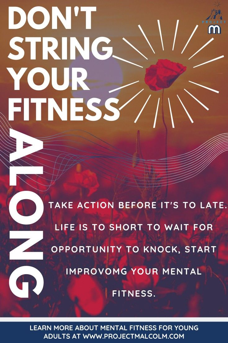 Mental fitness is important, #young #adult should make mental fitness their # 1 #priority. #Mental #fitness should have the spot light! #healthylife #brainfood #muscleovermind #youngadultfitness