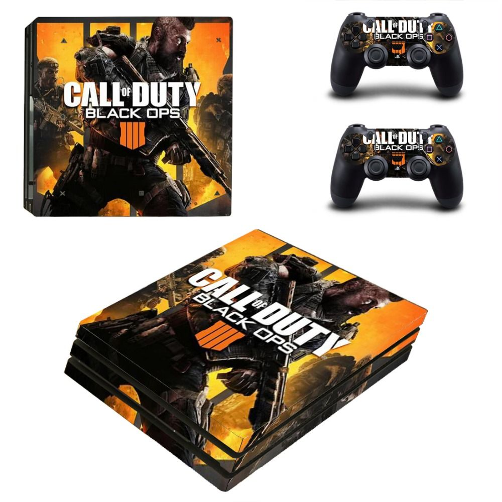 Skull Dead Skin Ps4 Pro Limited Edition Glossy Vinyl Decal Cover High Safety