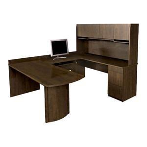 U Shaped Executive Desk T Desk With Hutch