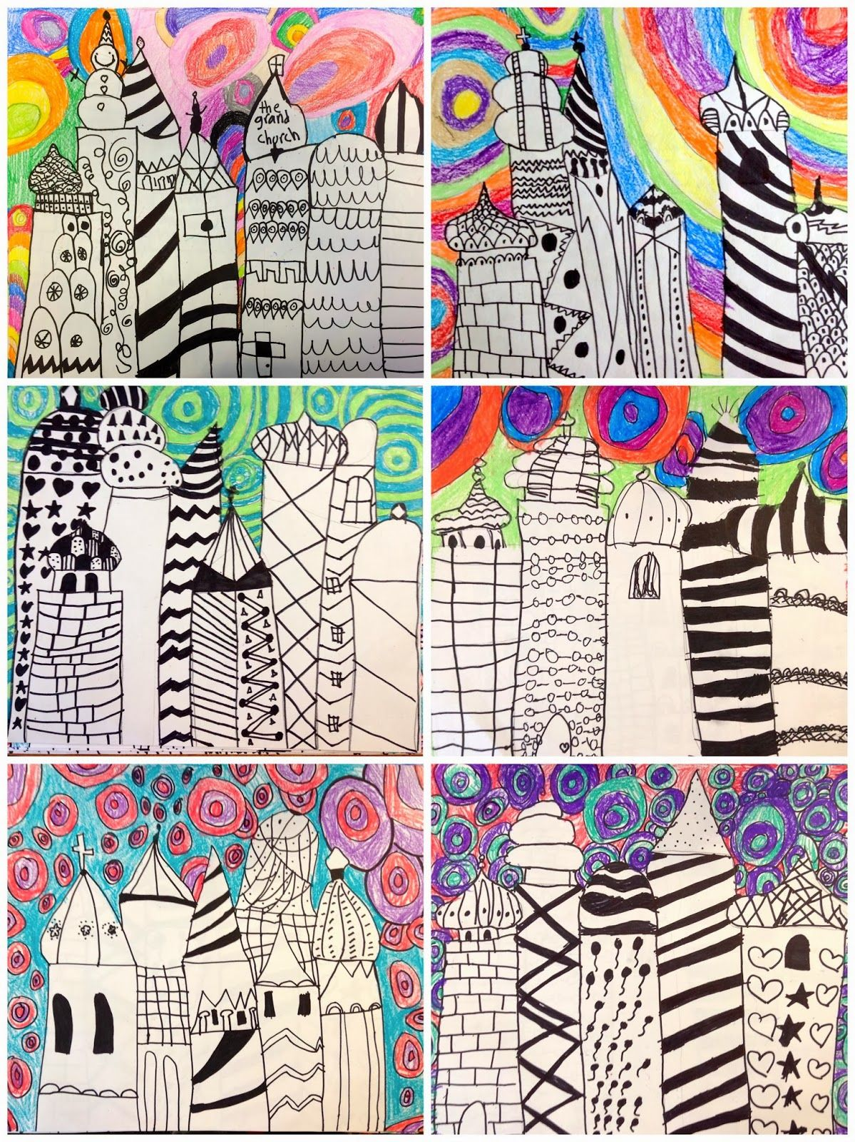 2nd Grade Russian Architecture Exploring Art Elementary