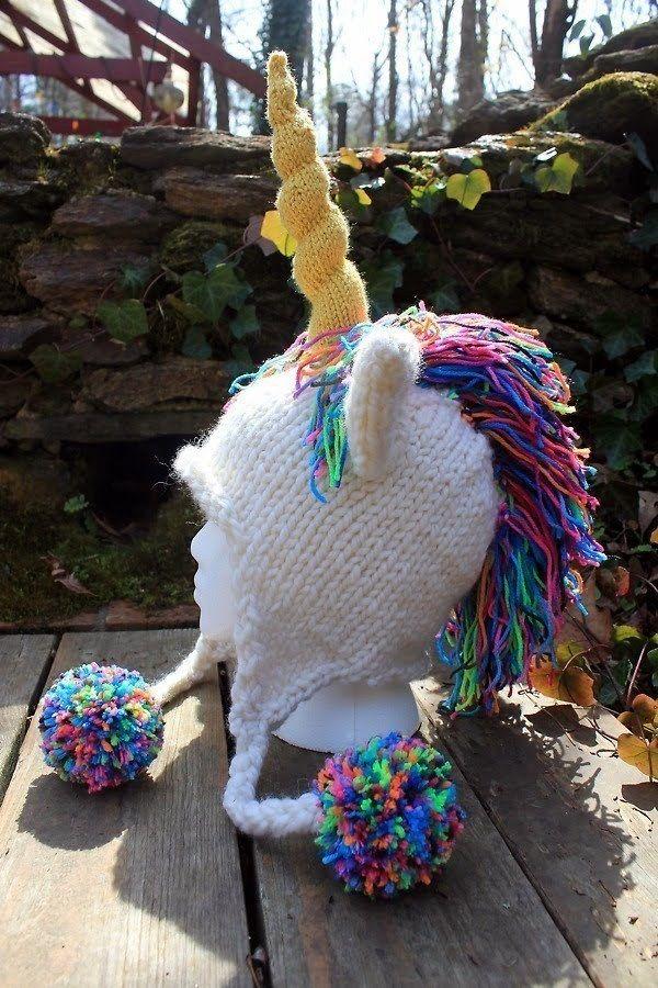 6ddcc564fca Unicorn Hat Crochet Unicorn Pattern Free