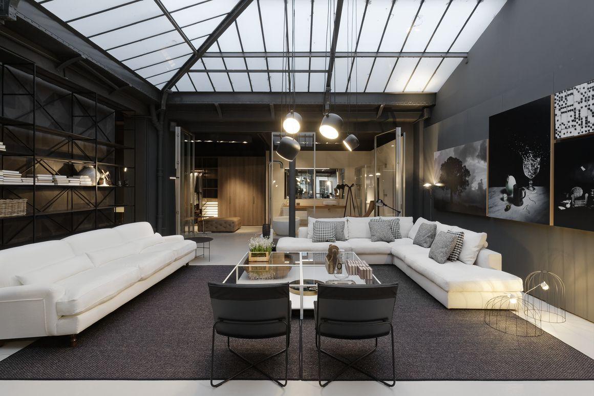 De Padova La Celebre Marque De Design Italienne A Ouvert Une Boutique A Paris With Images Apartment Living Home Home Decor