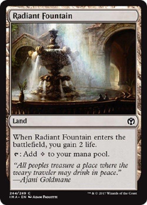 4X NM Radiant Fountain Iconic Masters MTG Magic The Gathering