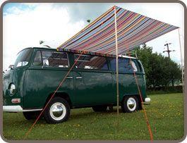 C&er Multi Stripe Sun Canopy & Camper Multi Stripe Sun Canopy   Bustique   Pinterest   Canopy Vw ...