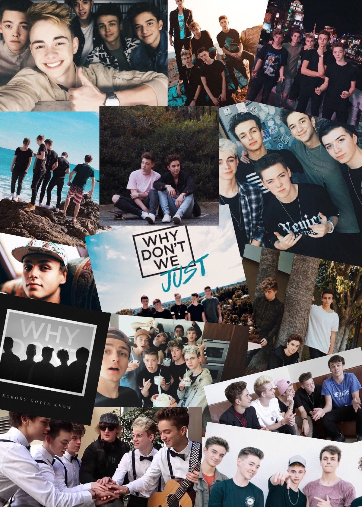 Why Don T We Collage Why Dont We Band College Poster Wdw