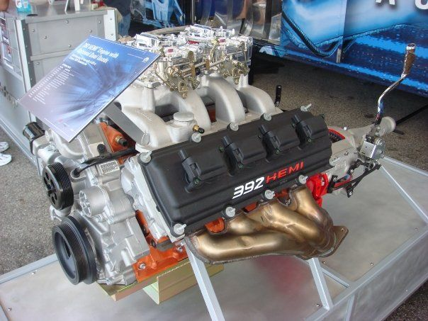 Late model HEMI with coil on plug & manual 4-6 sp