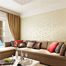 Image Result For Wallpaper Ideas For Living Room India Room Wallpaper Designs Wallpaper Living Room Living Room Warm