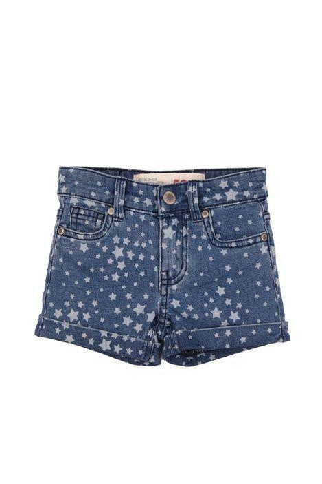 ava short CLASSIC BLUE/STAR PRINT
