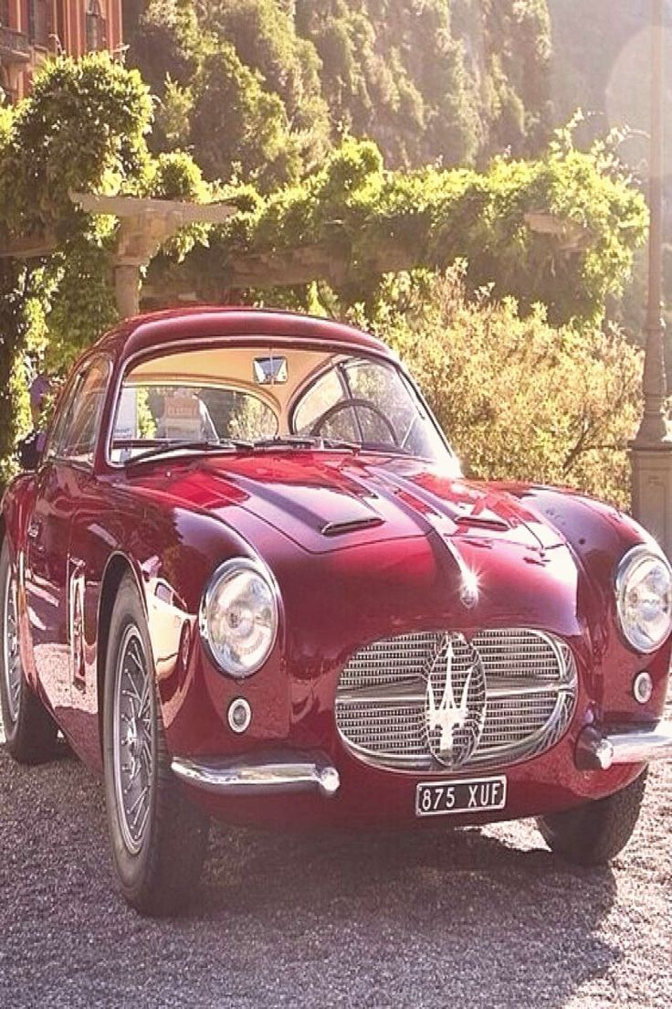 A6G 2000 Zagato coupè from 1955 Classic cars Vintage cars Vintage maseratiMaserati cars