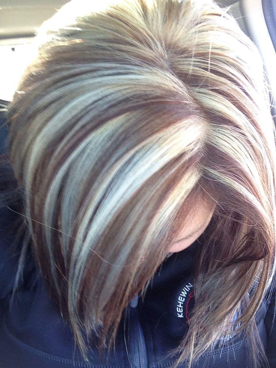 Resultado De Imagen De Gray Highlights In Brown Hair Gray Highlights Brown Hair Brown Hair With Highlights White Blonde Hair