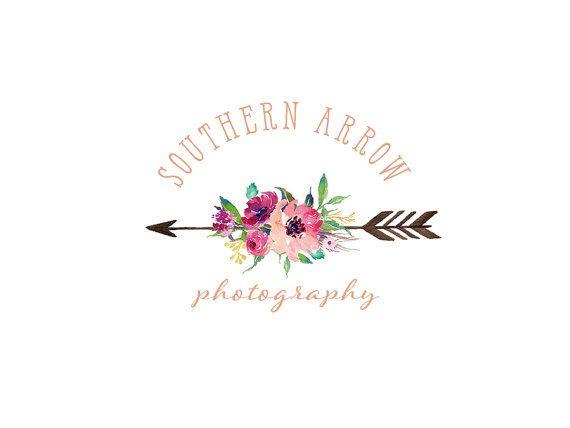 Floral Logo Photography Logo And Watermark By Stellardesignstudio