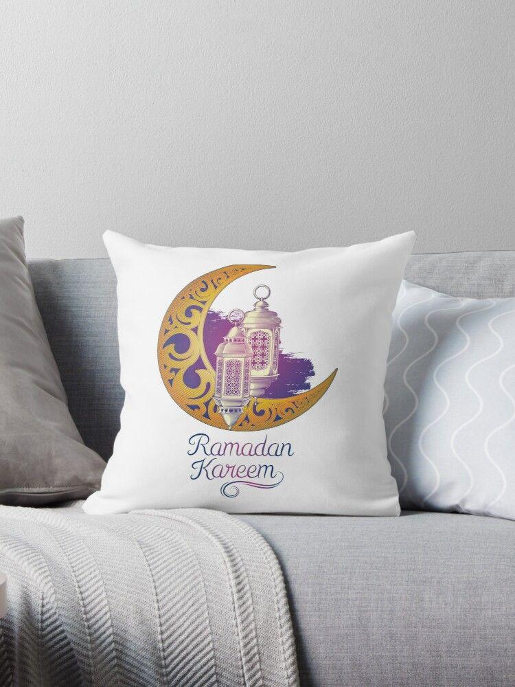 Pin By Nashwa Monam On ص In 2021 Throw Pillows Ramadan Kareem Decoration Ramadan