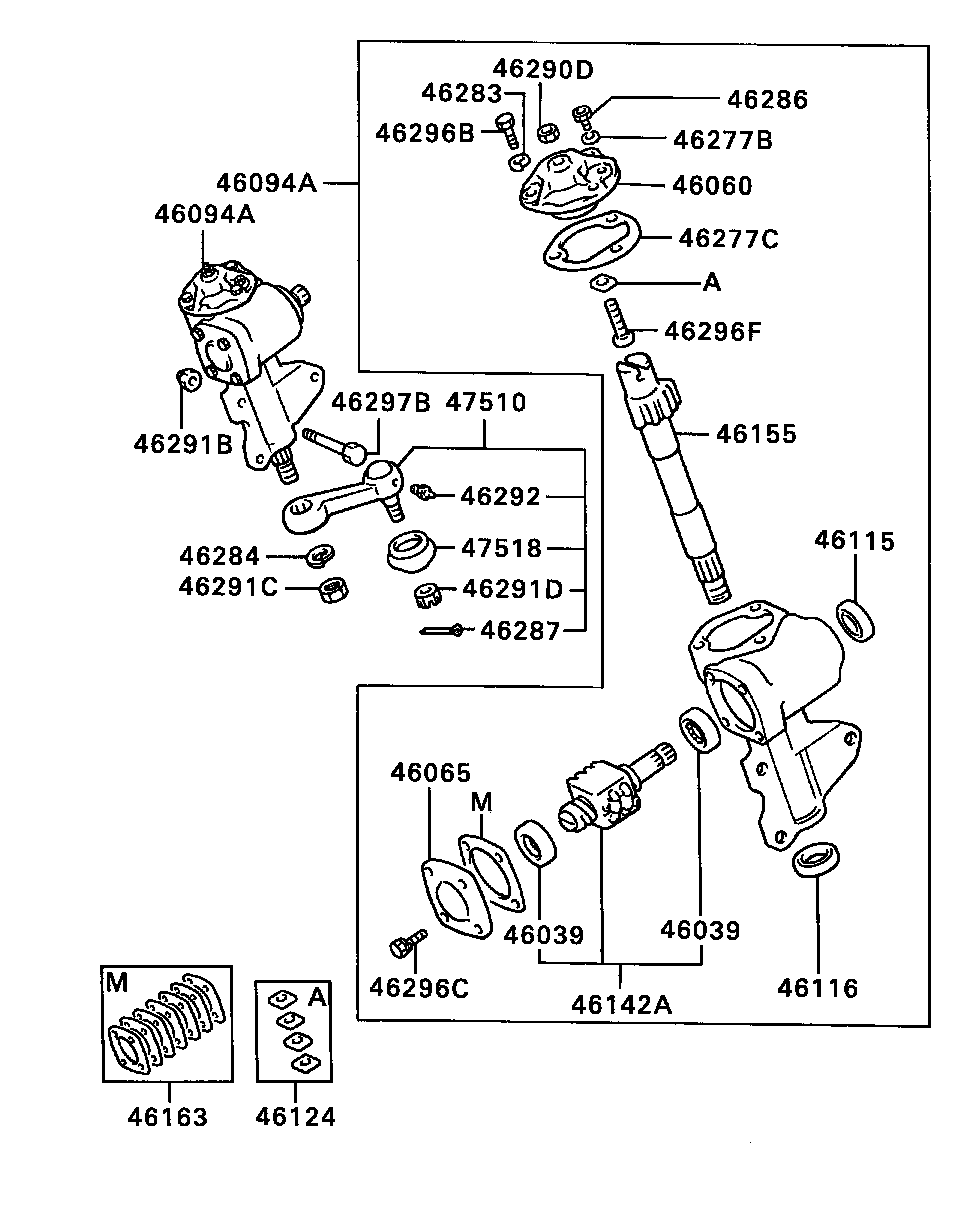Awesome Mitsubishi L200 Steering Gear Brass Automobile Parts Brass Wiring Digital Resources Minagakbiperorg