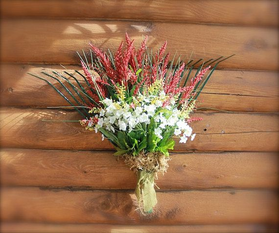 Garden Rake Wreath for Garden Shed or Door OOAK by tinkerscottage, $30.00