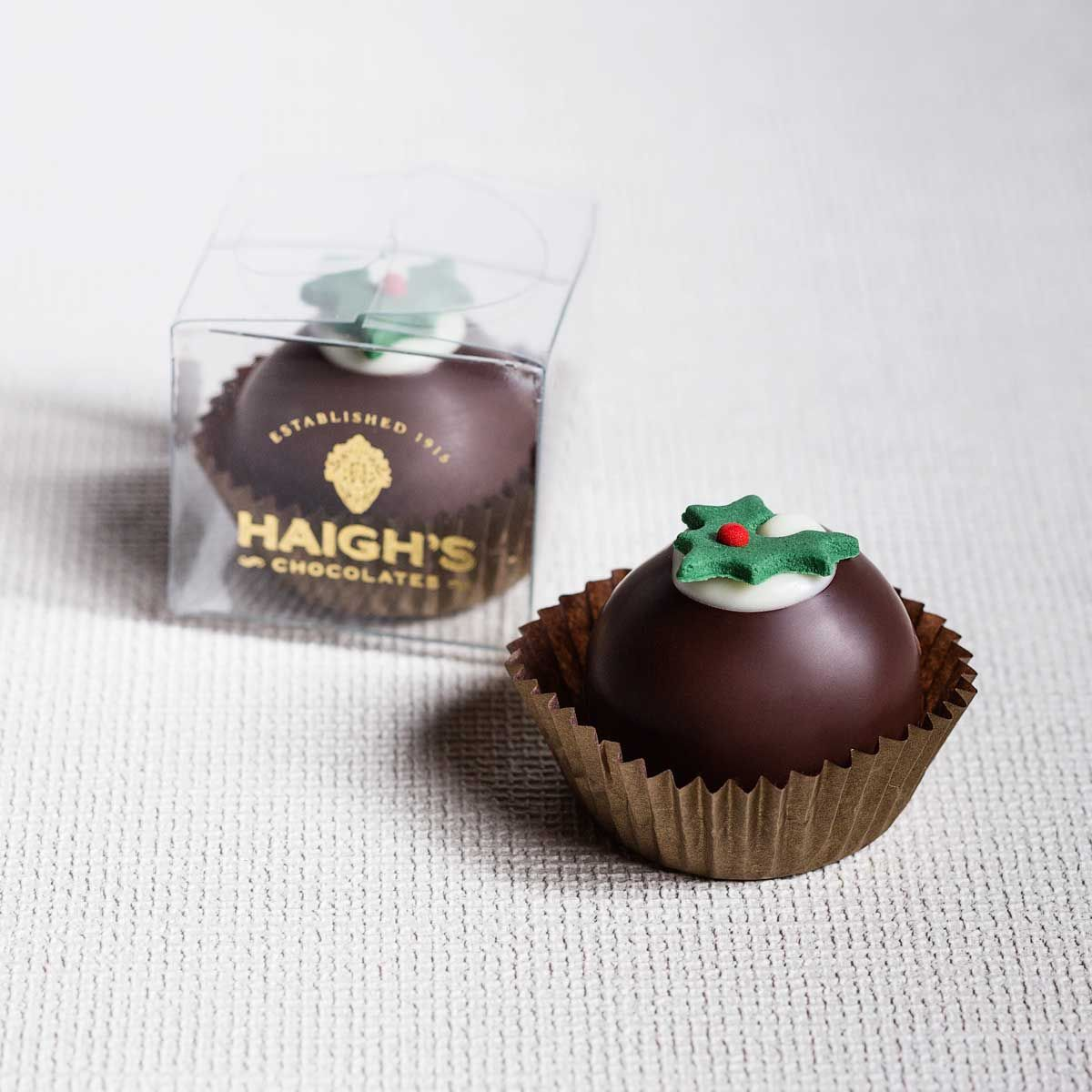 Christmas Pudding Brandy Truffle  http://www.haighschocolates.com.au/chocolates/browse/#christmas-collection