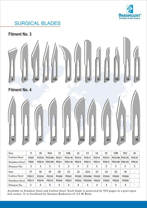 Carbon Steel Surgical Blades #surgicaltechnologist Carbon Steel Surgical Blades #surgicaltechnologist