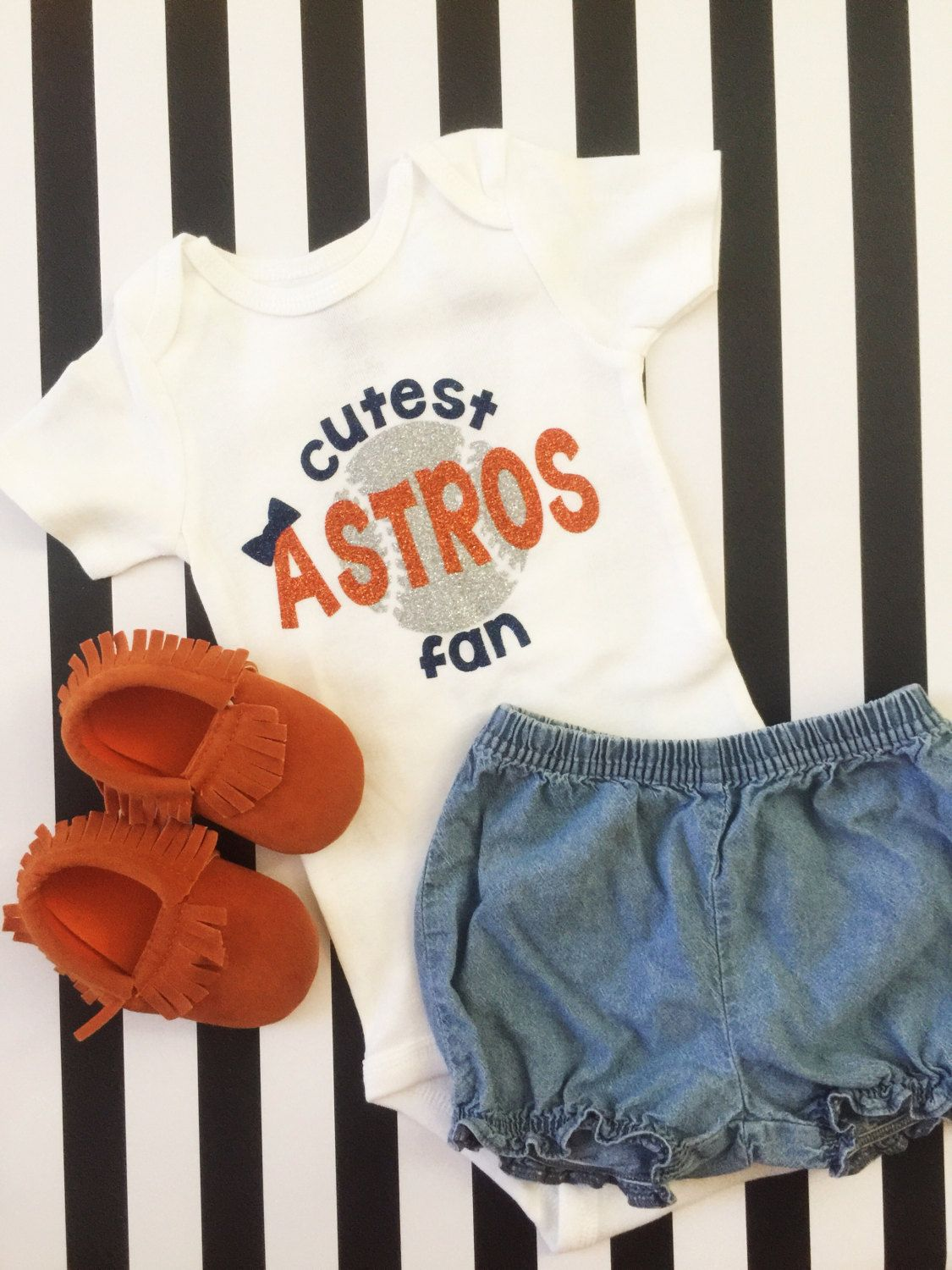 0d9f6f3e32 Cutest Astros Fan•Houston Astros Baby•Houston Astros Girl•Astros Shirt•Astros  Onesie•Astros Toddler Shirt•Houston, Texas• by 2PeasInAPodCo on Etsy