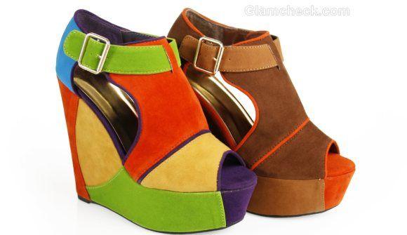 1000  images about Stylish Wedge Heels on Pinterest | Fashion ...