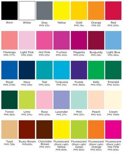 Wedding Color Combinations