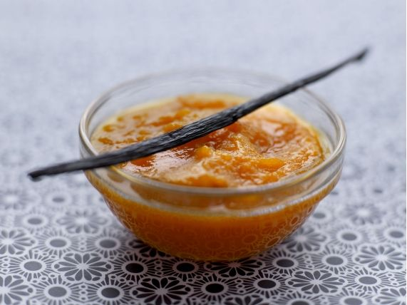 Pumpkin puree with vanilla