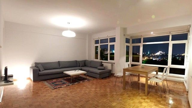 Living room by night - Amazing flat with Golden Horn views -  - rentals