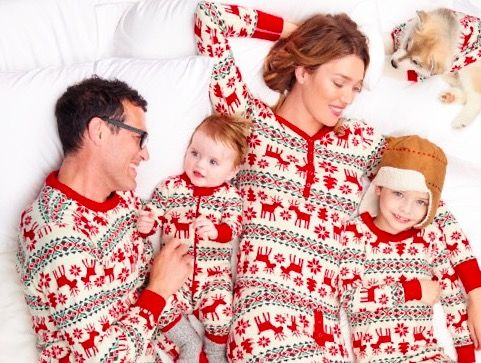 hanna andersson dear deer matching family christmas pajamas