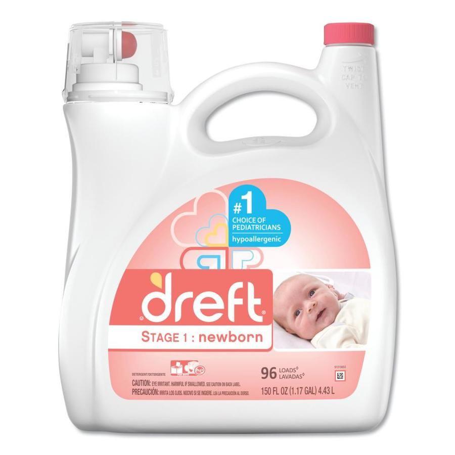 Dreft 150 Fl Oz Baby Powder He Laundry Detergent Pgc80377ea In 2020 Baby Laundry Detergent Laundry Detergent Liquid Laundry Detergent