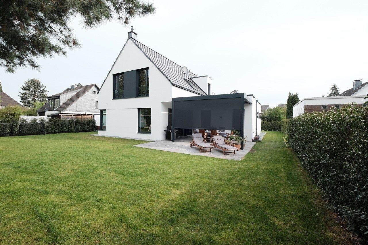 Terrassendach Skye Ein Aluminium Terrassendach Mit Drehbaren