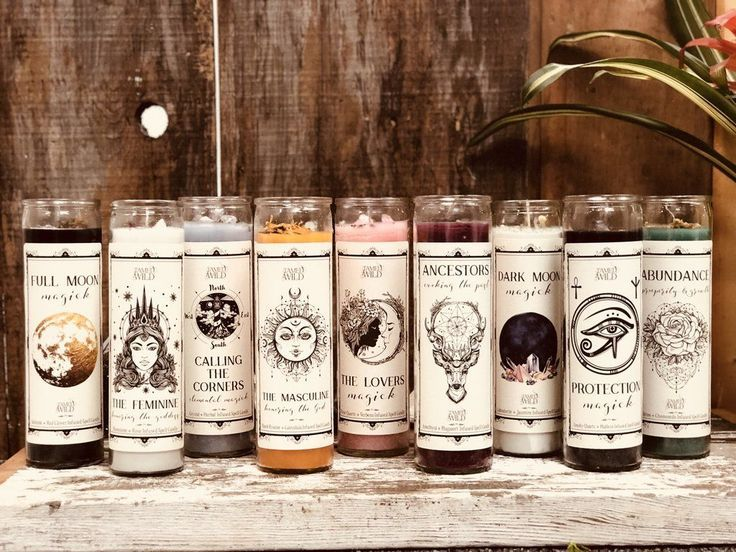 Spell Candles #candles