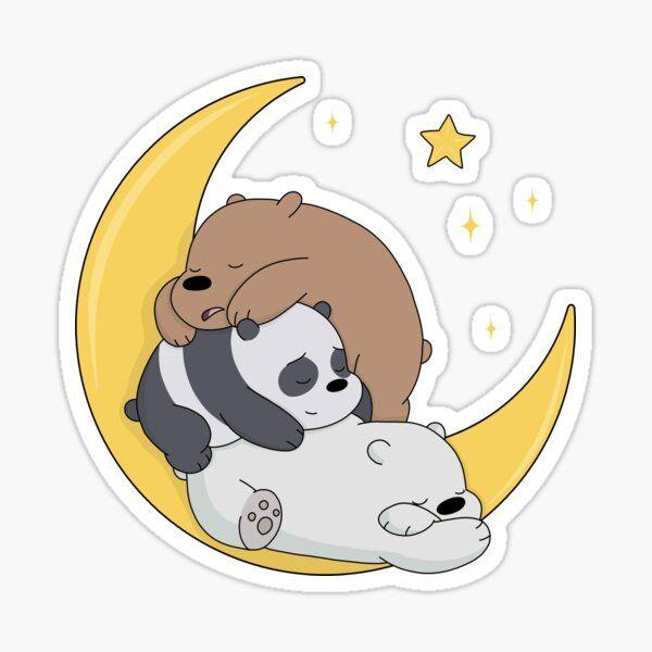 We Bare Bears Sticker by ValentinaHramov