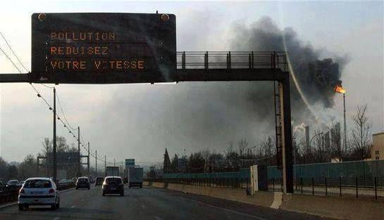 Pollution, réduisez votre vitesse